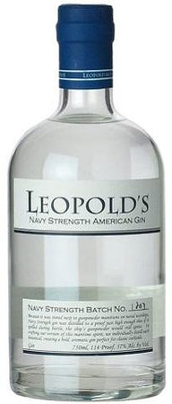 Leopold's Gin Navy Strength