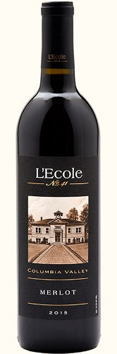 L'Ecole No. 41 Merlot Columbia Valley 2015