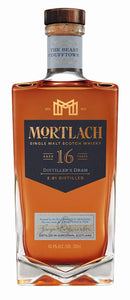 Mortlach Scotch Single Malt 16 Year Distiller's Dram 2016