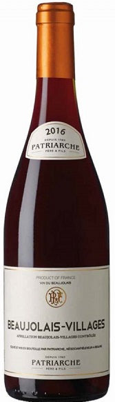 Patriarche Pere & Fils Beaujolais Villages 2016