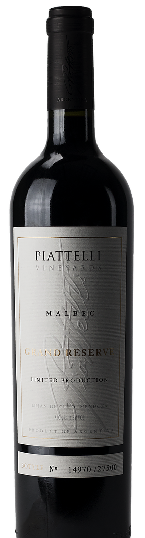 Piattelli Vineyards Malbec Grand Reserve 2015 (SOLD OUT!)