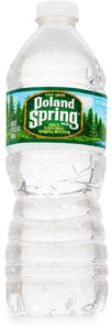 POLAND SPRING 100 Percent Natural Spring Water Plastic Bottle 16 Oz.