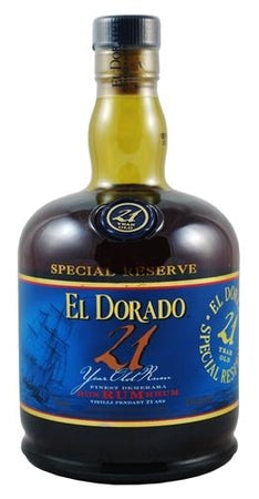 El Dorado Rum 21 Year Old