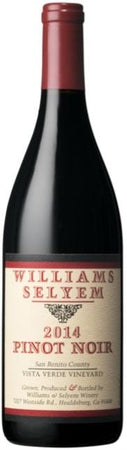 Williams Selyem Pinot Noir Vista Verde Vineyard 2014