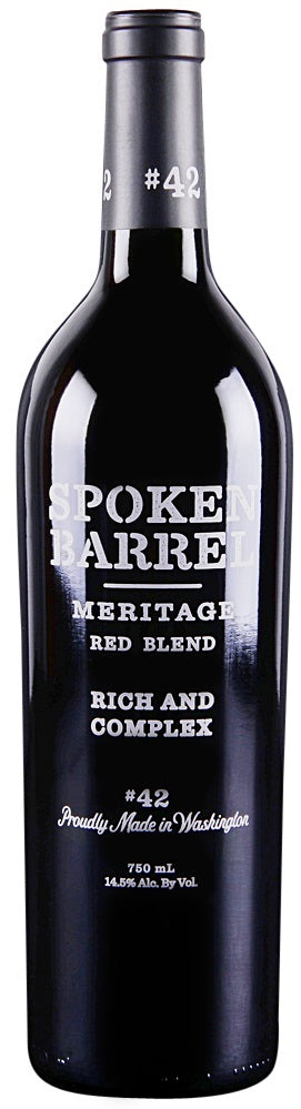 Spoken Barrel Meritage Red 2015