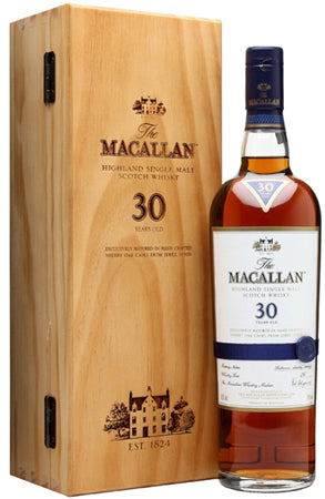 The Macallan Sherry Oak Single Malt Scotch 30 Year