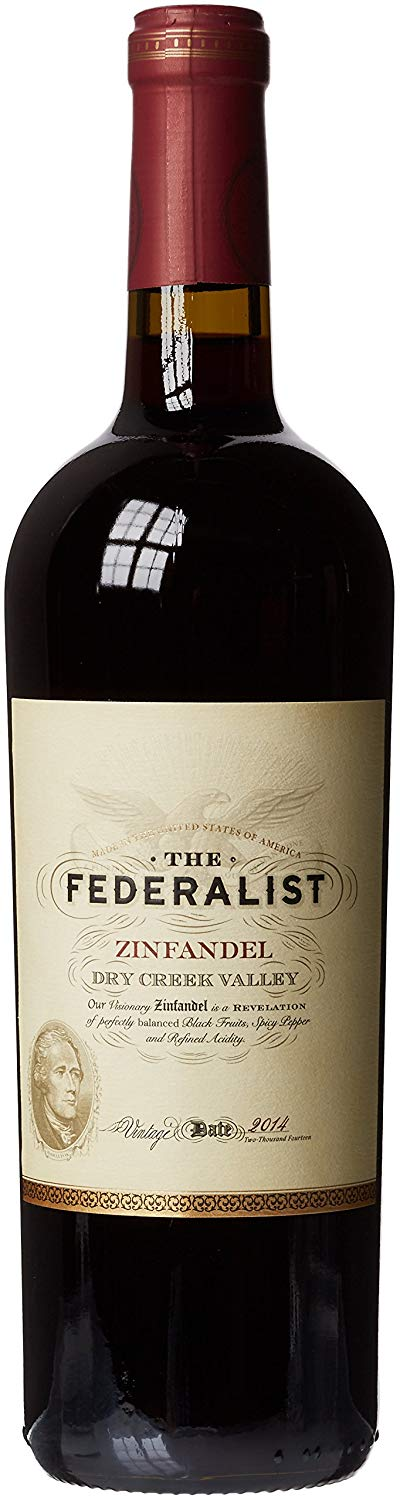 The Federalist Zinfandel Visionary 2016