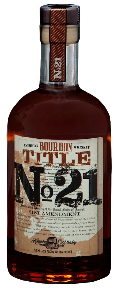 Title 21 Bourbon Whiskey