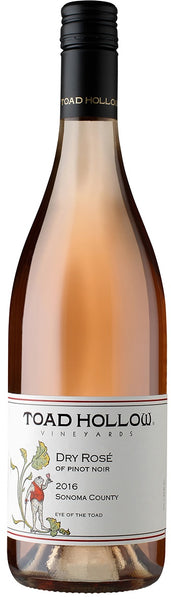 Toad Hollow Pinot Noir Rose Dry Eye Of The Toad 2017