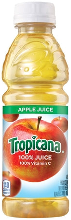 Tropicana 100 Percent Apple Juice 32 Oz.