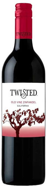 Twisted Wine Cellars Zinfandel Old Vine 2015