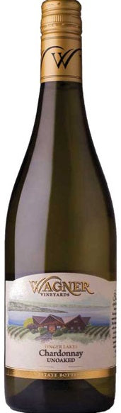 Wagner Vineyards Chardonnay Unoaked 2017