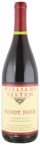 Williams Selyem Pinot Noir Central Coast 2017