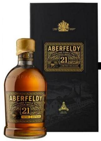 Aberfeldy Scotch Single Malt 21 Year-Wine Chateau