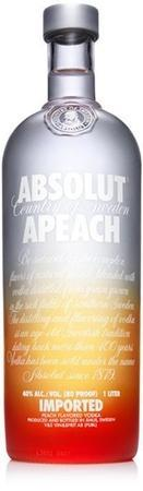 Absolut Vodka Apeach-Wine Chateau