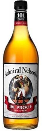 Admiral Nelson's Rum Spiced 101 Proof-Wine Chateau