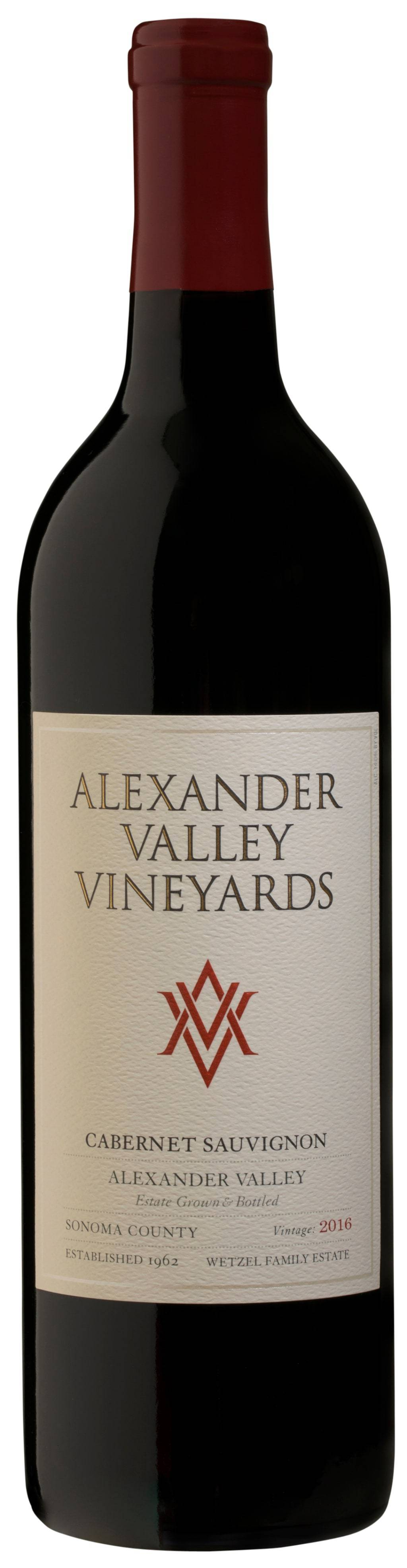 Alexander Valley Vineyards Cabernet Sauvignon Organic 2016