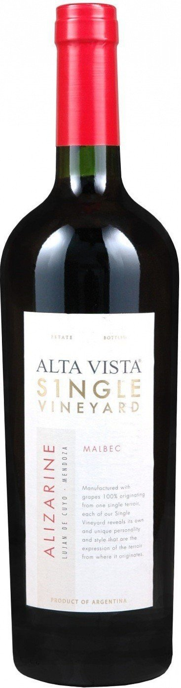 Alta Vista Malbec Single Vineyard Alizarine 2012