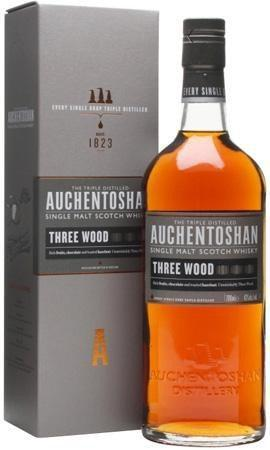 Auchentoshan Scotch Single Malt Three Wood-Wine Chateau