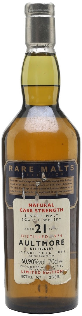 Aultmore Scotch Single Malt 21 Year
