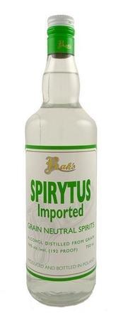 Bak's Spirytus 192 Proof-Wine Chateau