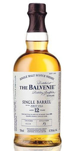 The Balvenie Scotch Single Malt 12 Year Single Barrel First Fill 2012