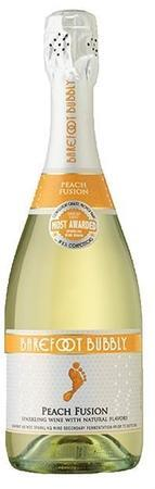 Barefoot Bubbly Peach Fusion-Wine Chateau