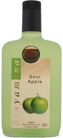 Binyamina Liqueur Sour Apple-Wine Chateau
