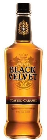 Black Velvet Canadian Whisky Toasted Caramel