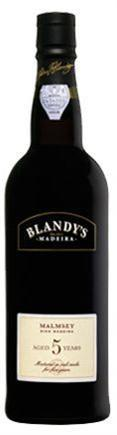 Blandy's Madeira Malmsey 5 Year-Wine Chateau