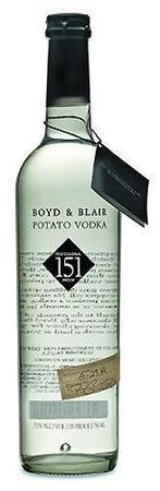 Boyd & Blair Vodka Potato 151 Proof-Wine Chateau