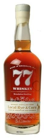 Breuckelen Distilling Local Rye & Corn 77 Whiskey