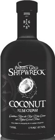 Brinley Gold Shipwreck Rum Coconut Cream-Wine Chateau