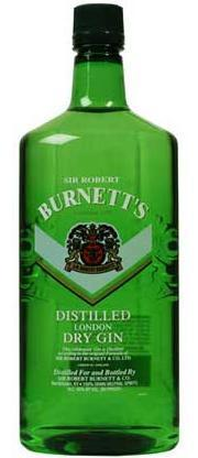 Burnett's Gin London Dry-Wine Chateau