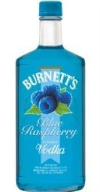 Burnett's Vodka Blue Raspberry-Wine Chateau