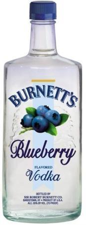 Burnett's Vodka Blueberry-Wine Chateau