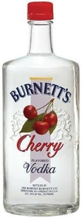 Burnett's Vodka Cherry-Wine Chateau
