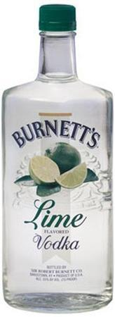 Burnett's Vodka Lime-Wine Chateau