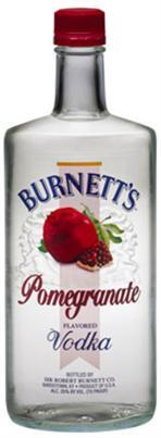Burnett's Vodka Pomegranate-Wine Chateau