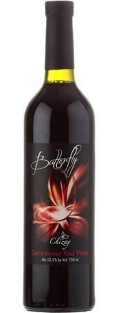 Butterfly Red Semi-Sweet-Wine Chateau