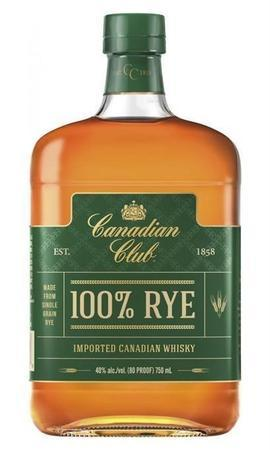 Canadian Club Rye 100%-Wine Chateau
