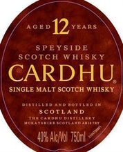Load image into Gallery viewer, Cardhu Scotch Single Malt 12 Year-Wine Chateau