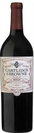 Cartlidge & Browne Merlot 2014