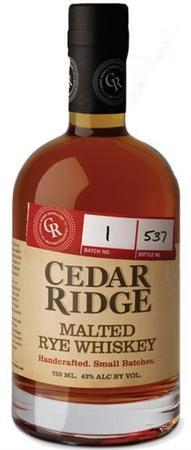 Cedar Ridge Rye Whiskey Malted-Wine Chateau