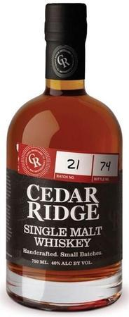 Cedar Ridge Whiskey Single Malt-Wine Chateau