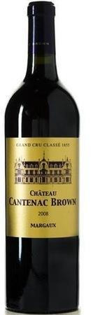 Chateau Cantenac Brown Margaux 2008-Wine Chateau