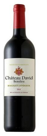 Chateau David Beaulieu Bordeaux Superieur 2014