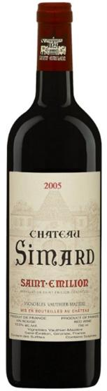 Chateau Simard Saint Emilion 2005 (Only 1500ML)