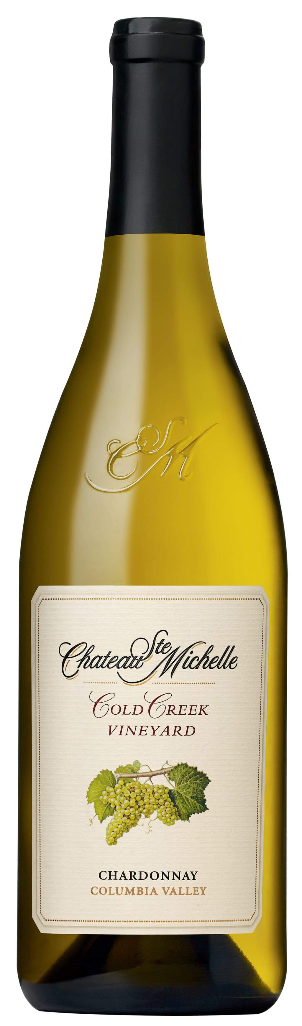Chateau Ste. Michelle Chardonnay Cold Creek Vineyard 2016