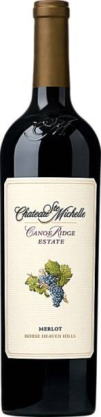 Chateau Ste. Michelle Merlot Canoe Ridge Estate 2015